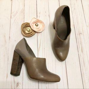 Kate Spade Saturday Ankle Booties Heels Brown/Purp